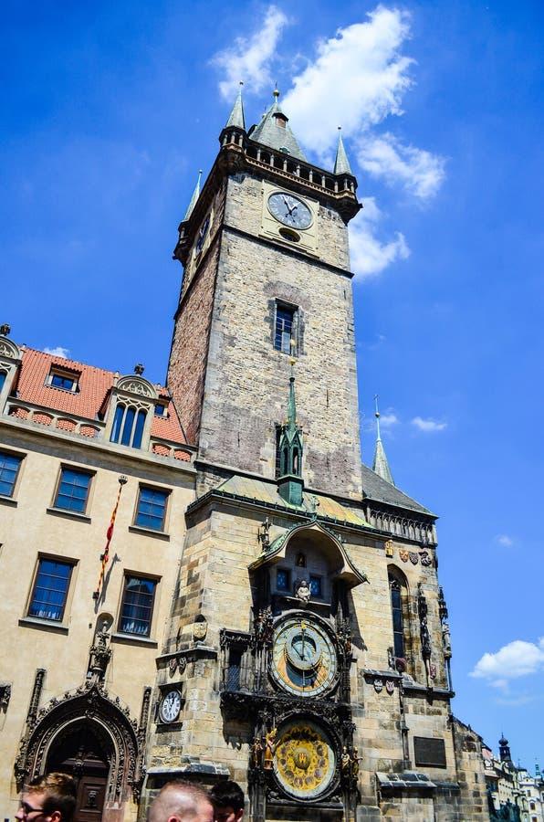 czeska kościelna pani nasze Prague republiki tyn fotografia stock