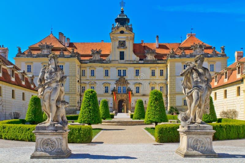 czeski pałac republiki valtice obraz royalty free