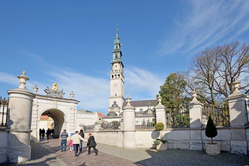 Czestochowa,波兰 库存照片