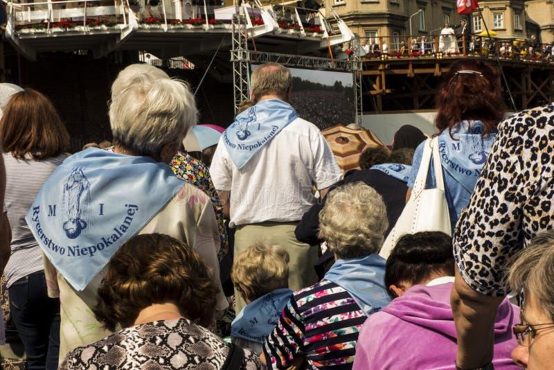 Czestochowa, Польша, 26-ое августа 2017: Юбилей 300 годовщины стоковая фотография rf