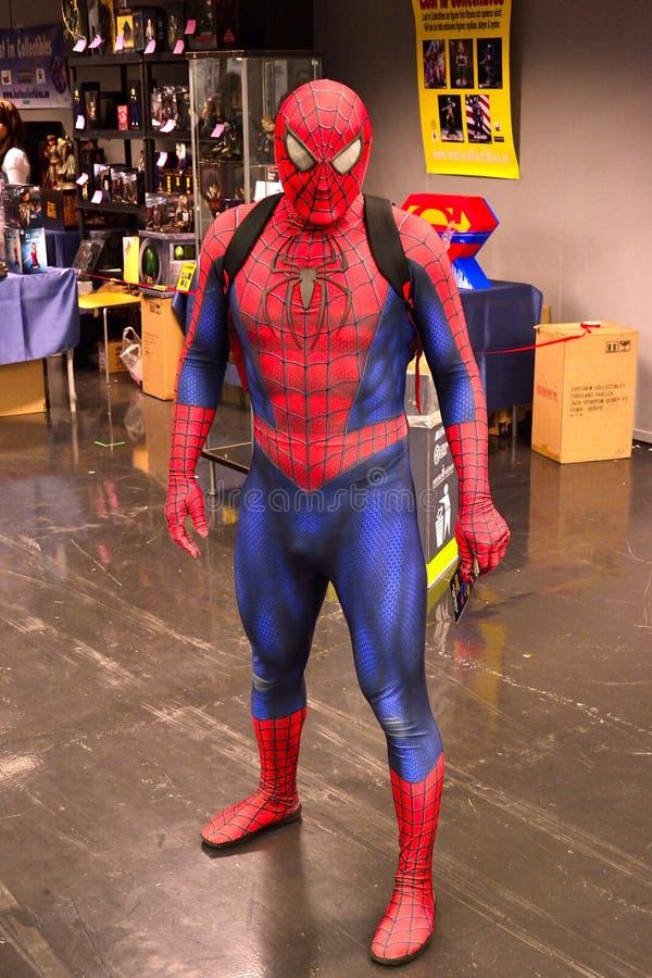 Czlowiek-pająk fotografia stock
