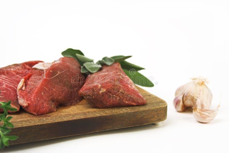 czosnków mięsa zdjęcia stock
