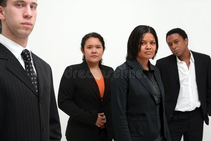 czterech grup działalności zespołu obrazy stock