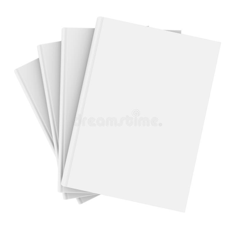 Cztery biała książka ilustracji