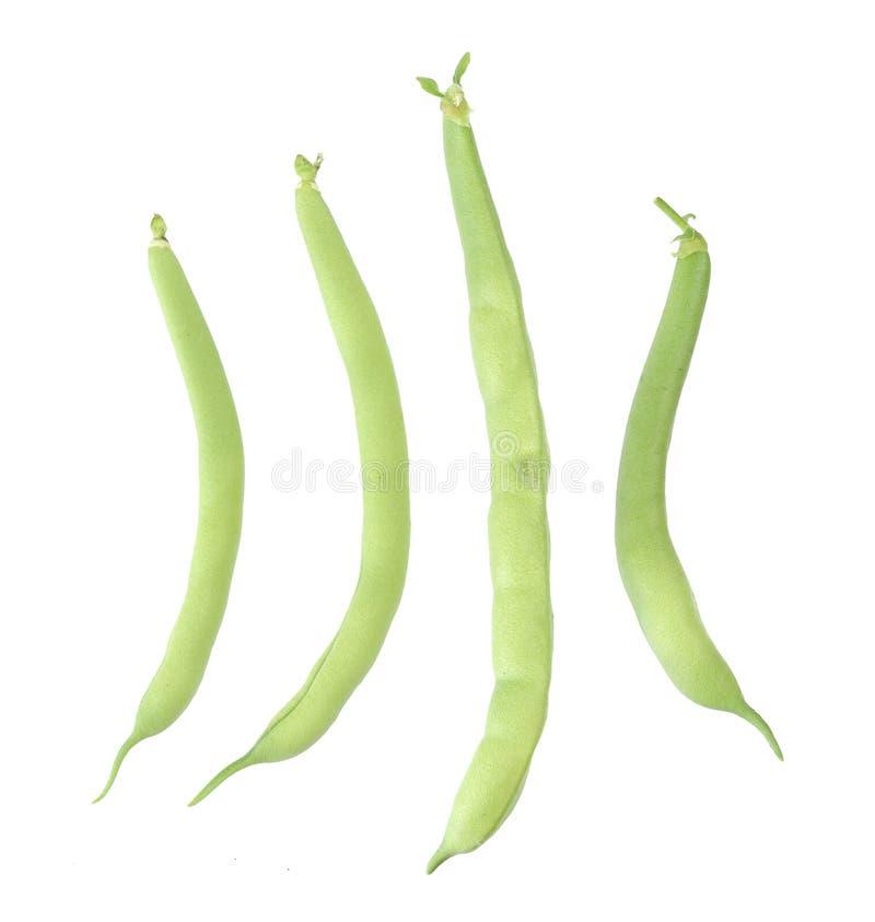 Cztery fasolki szparagowej zdjęcia stock