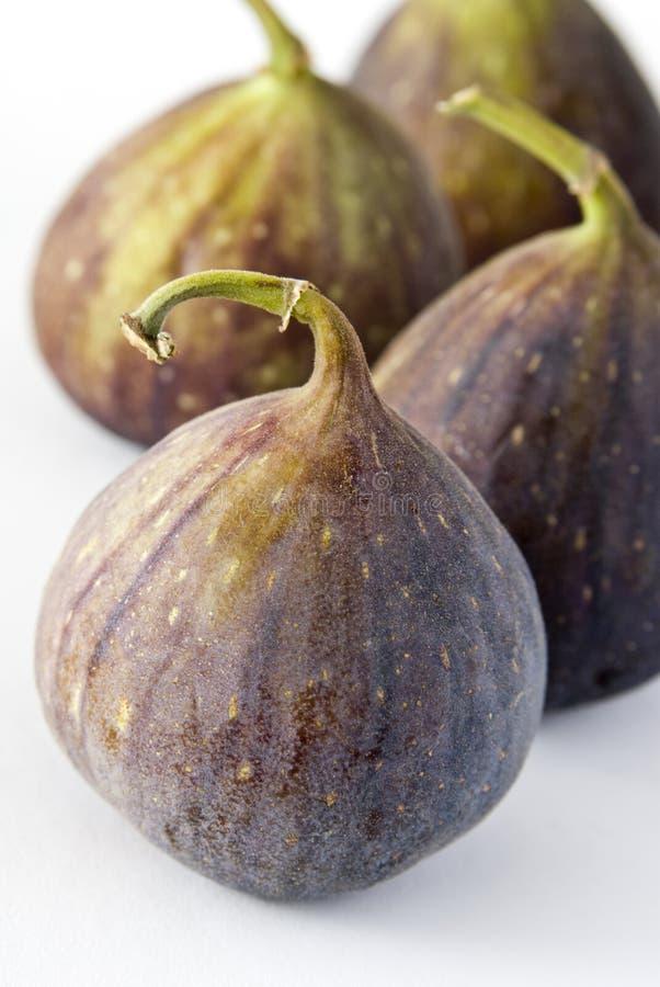 Cztery figi owoc na białym tle zdjęcia royalty free