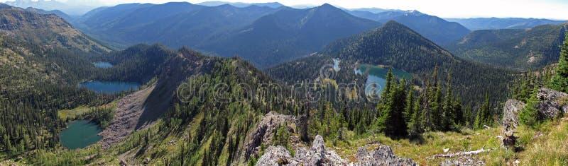 cztery jezior pustkowie obrazy stock