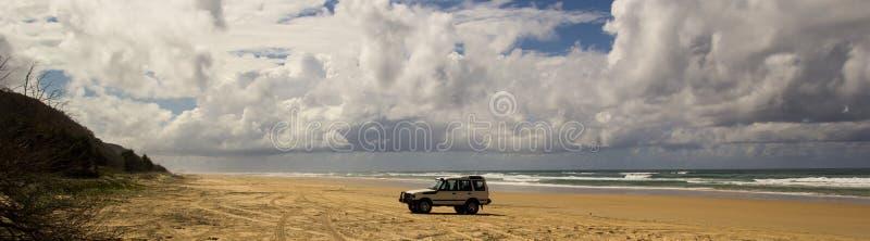Cztery kół przejażdżka na 75 mil plaży obrazy royalty free