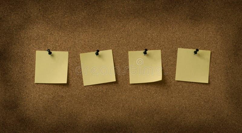 Cztery kolor żółty zdjęcia royalty free