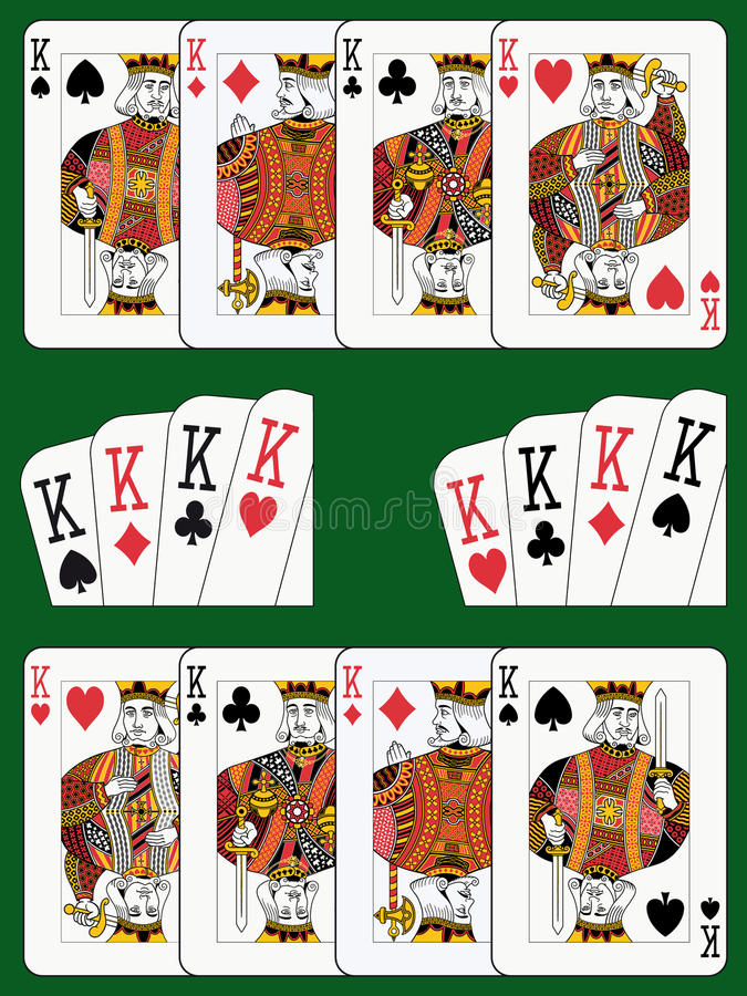 cztery królewiątka ilustracji