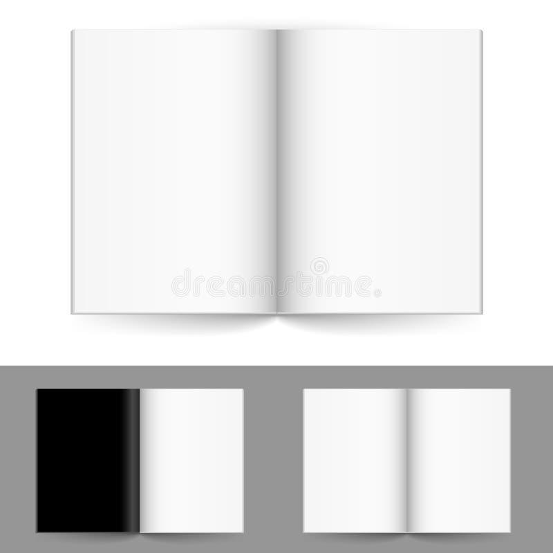 cztery magazynu liczby realistyczny set royalty ilustracja