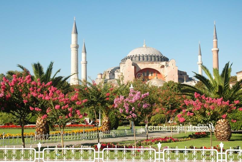 cztery minaretów meczetu zdjęcie stock