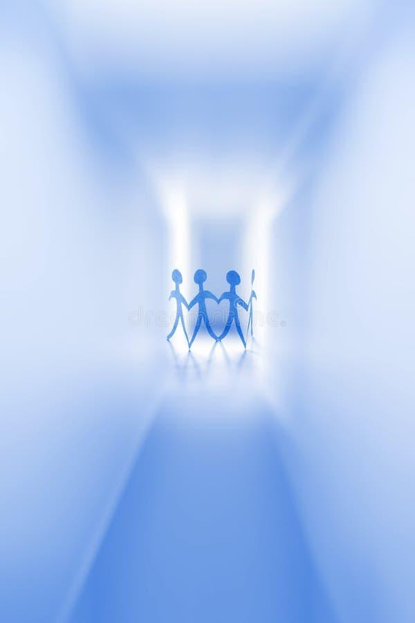 Download Cztery osoby obraz stock. Obraz złożonej z grafika, przyszłość - 22108485
