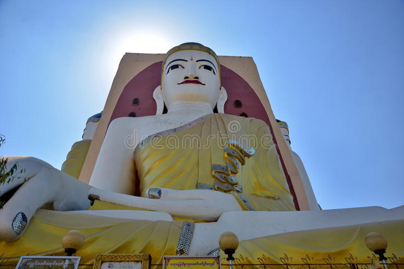 Cztery twarz michaelita świątynnego w Myanmar obrazy royalty free