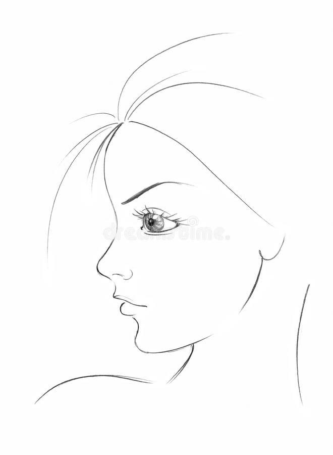 czułość piękności ilustracji