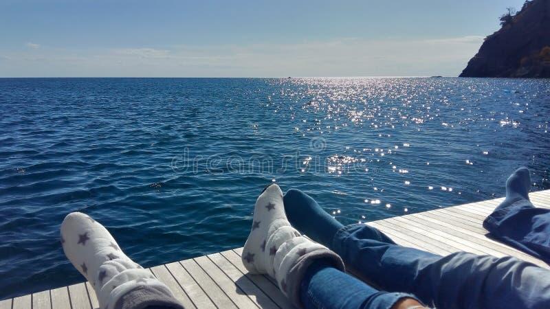Czuły słońce w Październiku zdjęcia stock