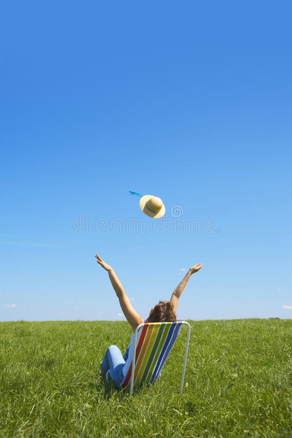 czuciowy lato obraz stock