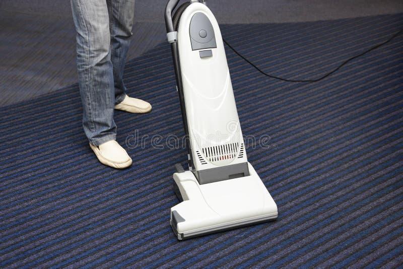 Czyścić dywanowego próżniowego cleaner zdjęcie royalty free