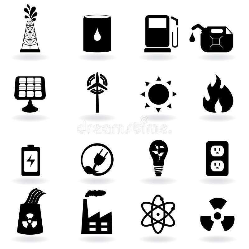 czyścić eco energii środowiska ilustracja wektor