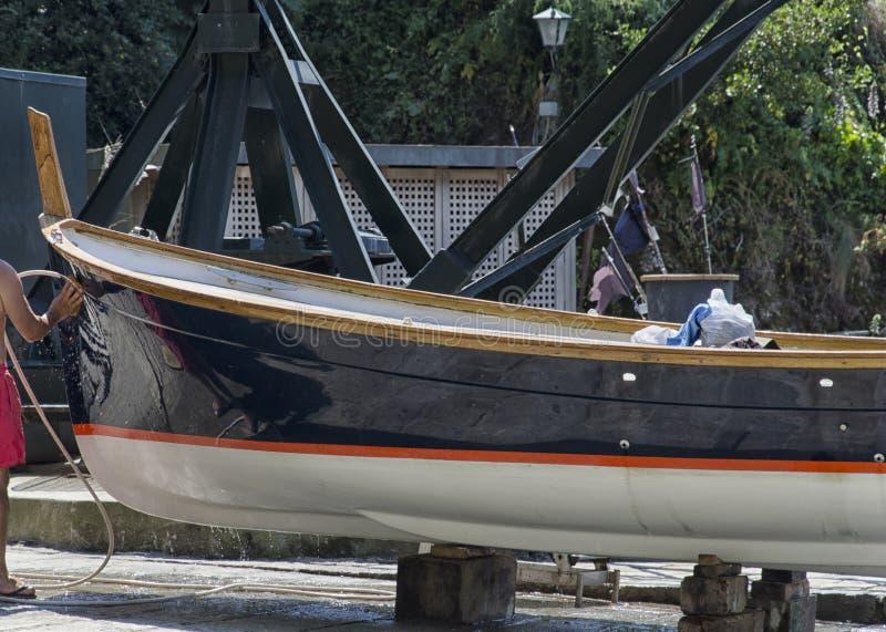 Czyści łódź obrazy stock