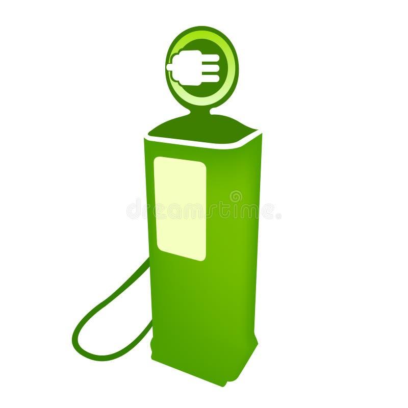 czyści elektrycznego paliwowej pompy wektor ilustracja wektor