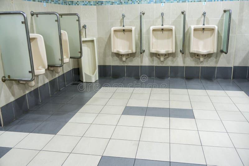 Czyści Jawną toaletę obrazy royalty free