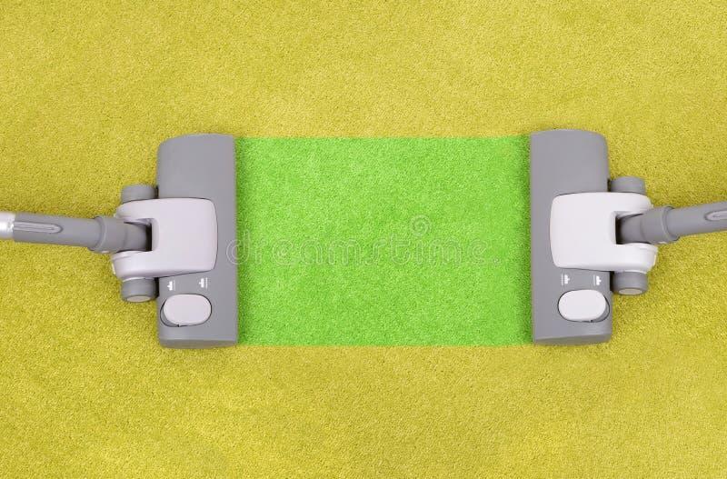 czyściciele czyścić próżnię dwa zdjęcia royalty free