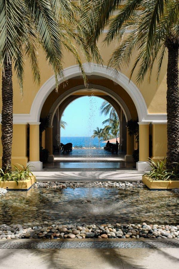 czy cabo San Lucas Meksyku ocean widok zdjęcie stock