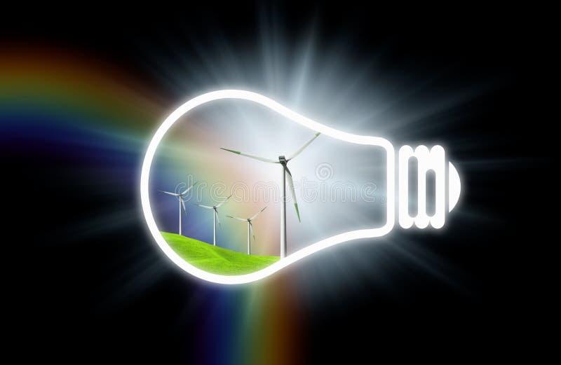 czysta energia ilustracji