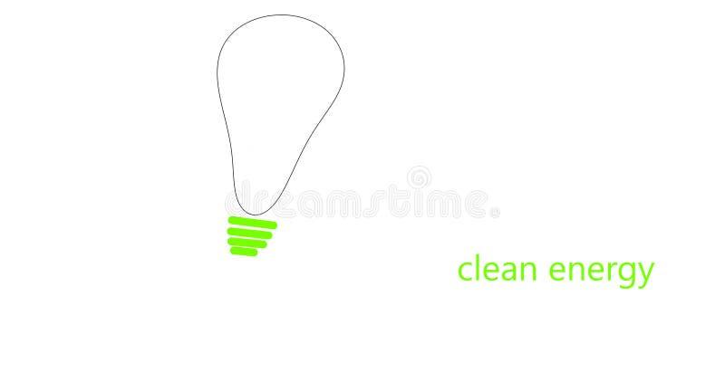 czysta energia obraz stock