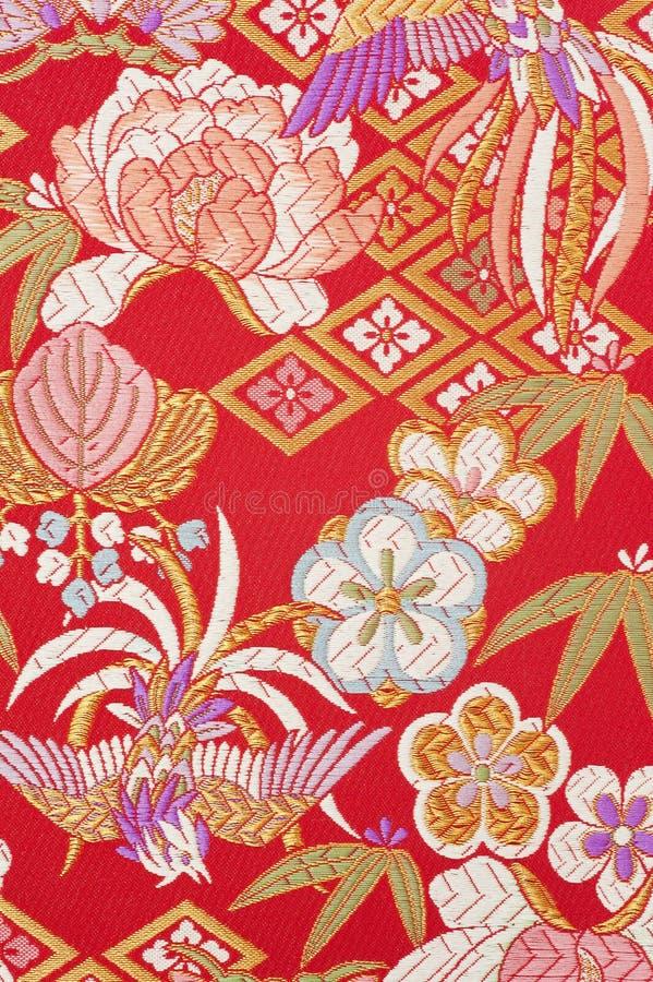 Czysta jedwabnicza tkanina zdjęcie royalty free