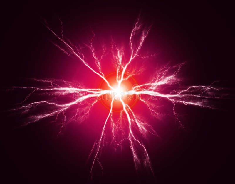 Czysta władza i elektryczność ilustracji