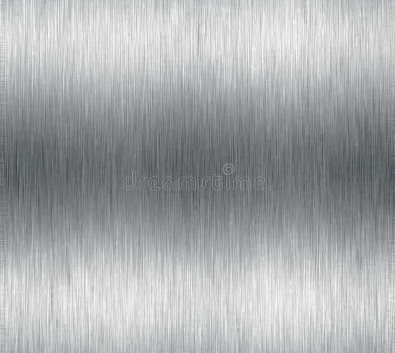 czyste metal błyszczą aluminium royalty ilustracja