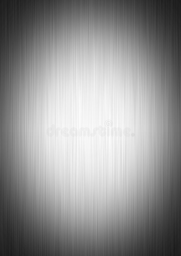 czyste metalowa płytka ilustracja wektor