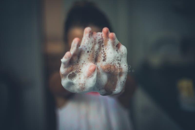 czyste ręce zdjęcie stock