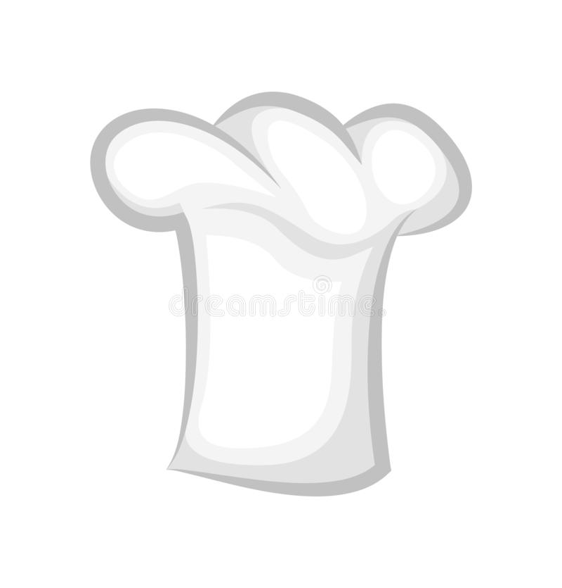 Czystego szefa kuchni Cook Kapeluszowy Realistyczny Elegancki 3D projekt ilustracji