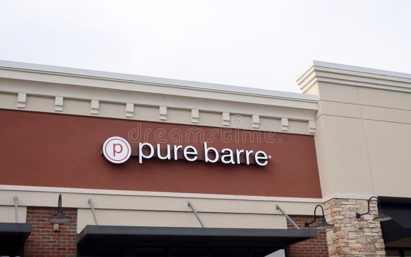 Czysty Barre sprawności fizycznej studio, Murfreesboro, TN obraz stock