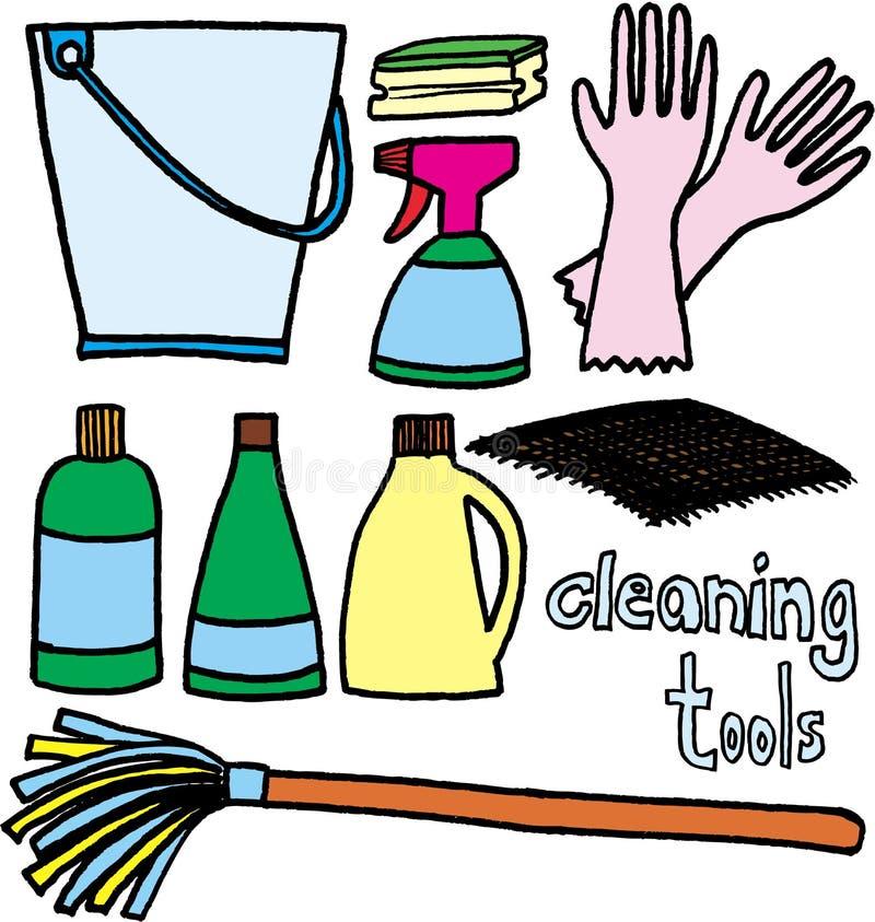 czystych narzędzi ilustracja wektor