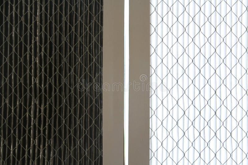 czyszczenie filtrów powietrza fotografia stock
