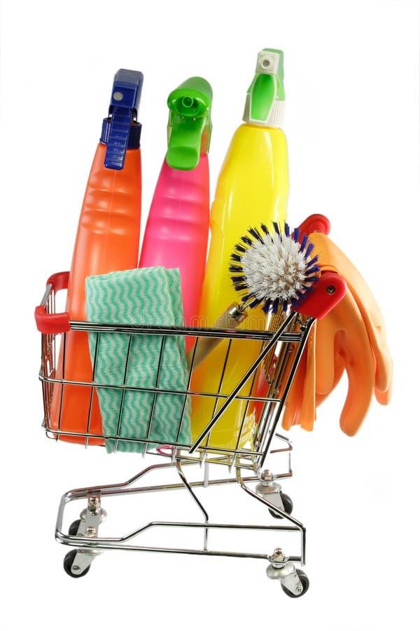 czyszczenie wyposażenia fotografia stock