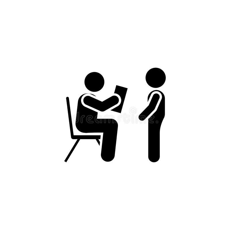 Czytający, nauczyciel, książka, dziecko ikona Element dziecko piktogram Premii ilo?ci graficznego projekta ikona znaki i symbole  ilustracja wektor