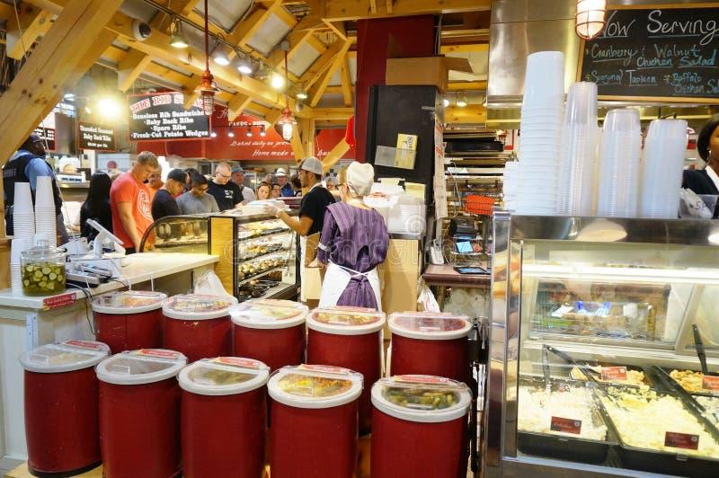 Czytelniczy Śmiertelnie rynek w Filadelfia, PA obrazy stock