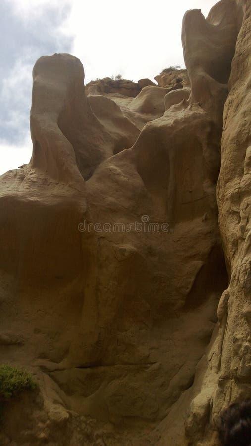 Dá forma a rochas dos interiores fotos de stock royalty free