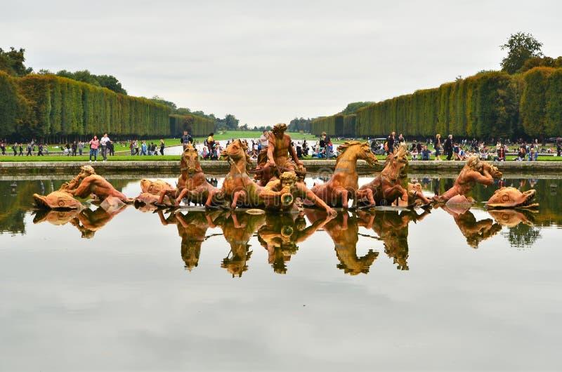 D'Apollon de char de le (Apollo Fountain) photo libre de droits