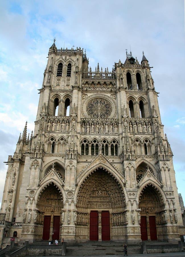 DÂ'Amiens Нотр-Дам стоковое изображение rf
