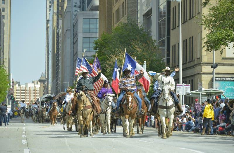 Défilé de Houston Livestock Show et de rodéo image stock