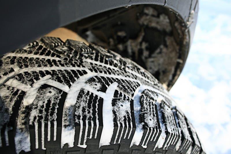 Däckmönsterhjul royaltyfri foto