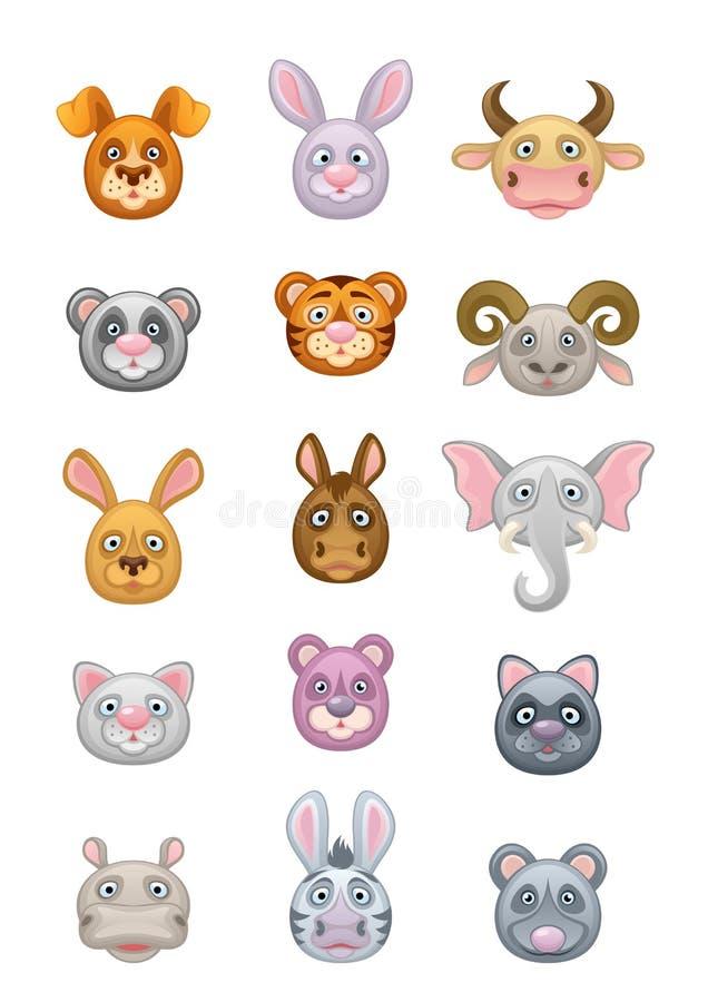 Däggdjur vektor illustrationer