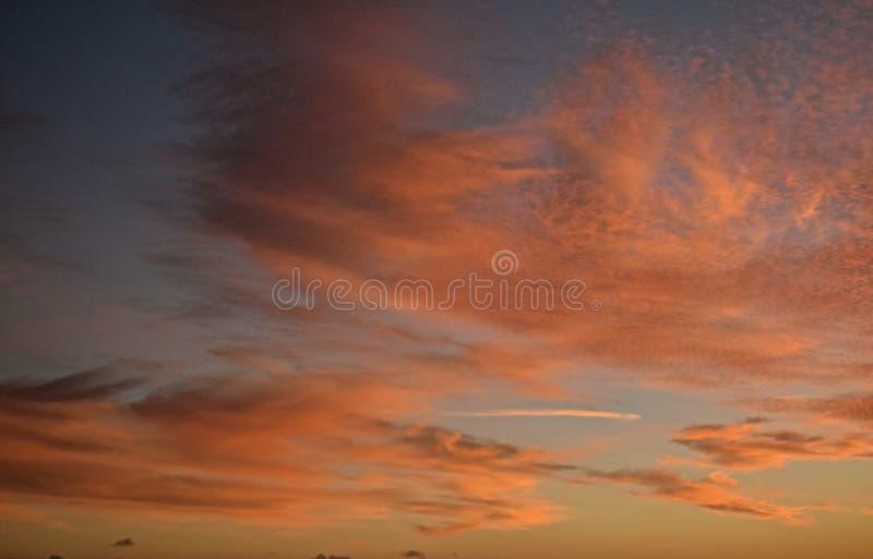 Dämmerungs-Himmel stockfotos