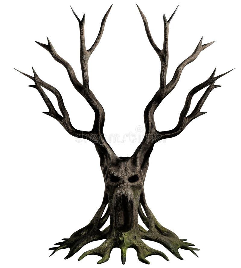 Dämonbaum stock abbildung